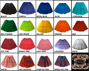 LONG Rainbow Color Tutus